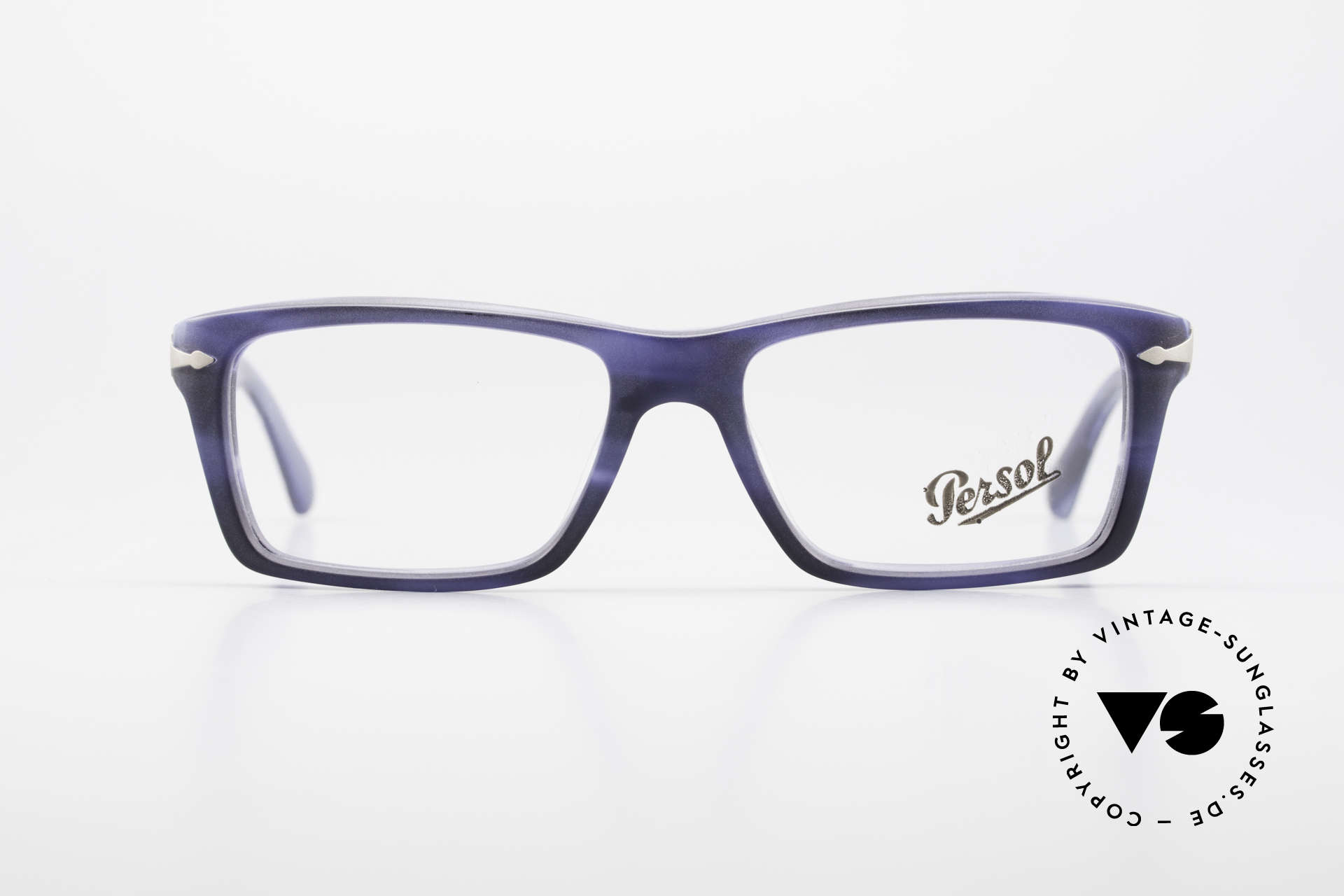 Persol 3060 Striking Eyeglasses For Men, classic timeless design with interesting coloring, Made for Men