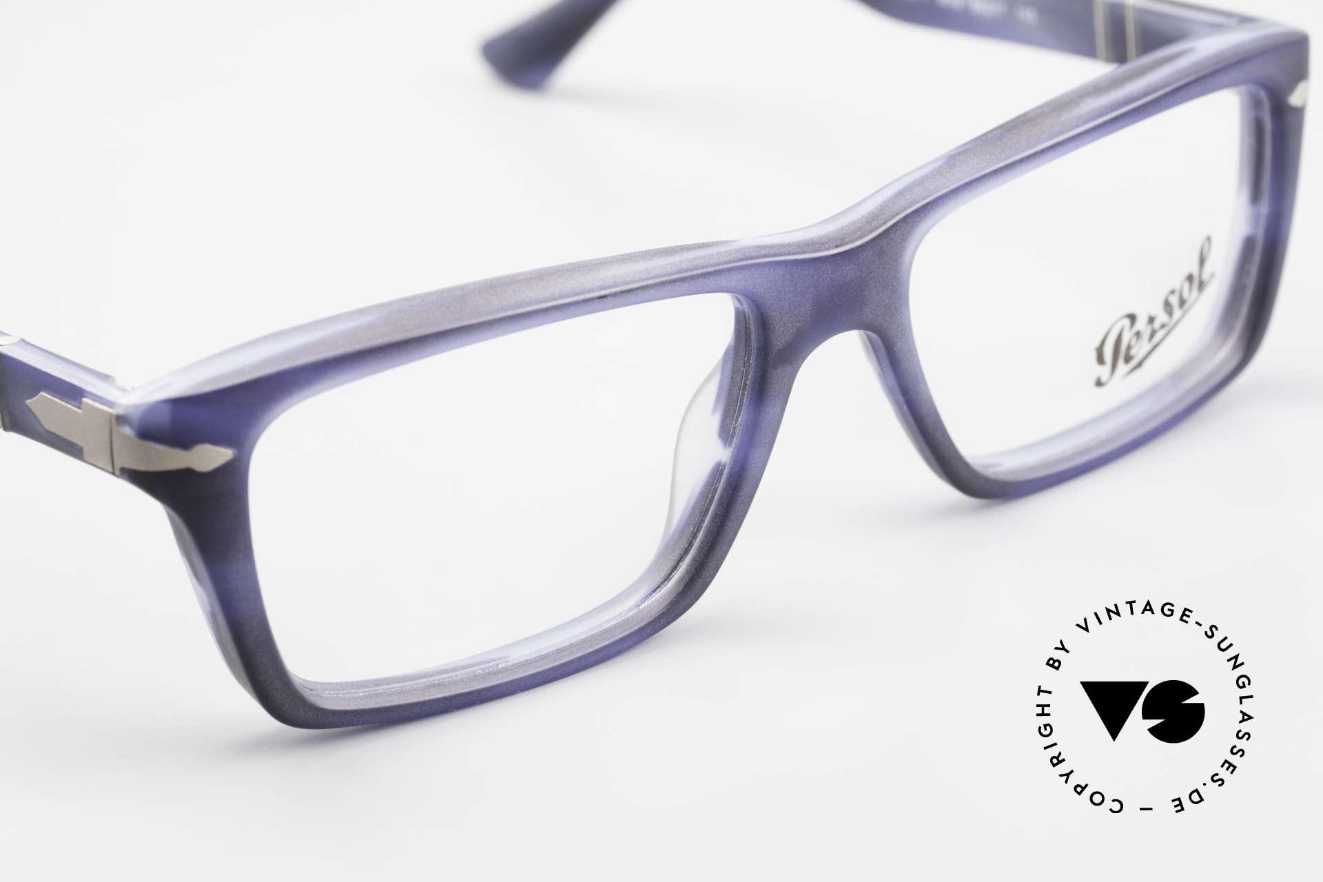 Persol 3060 Striking Eyeglasses For Men, reissue of the old vintage Persol RATTI models, Made for Men
