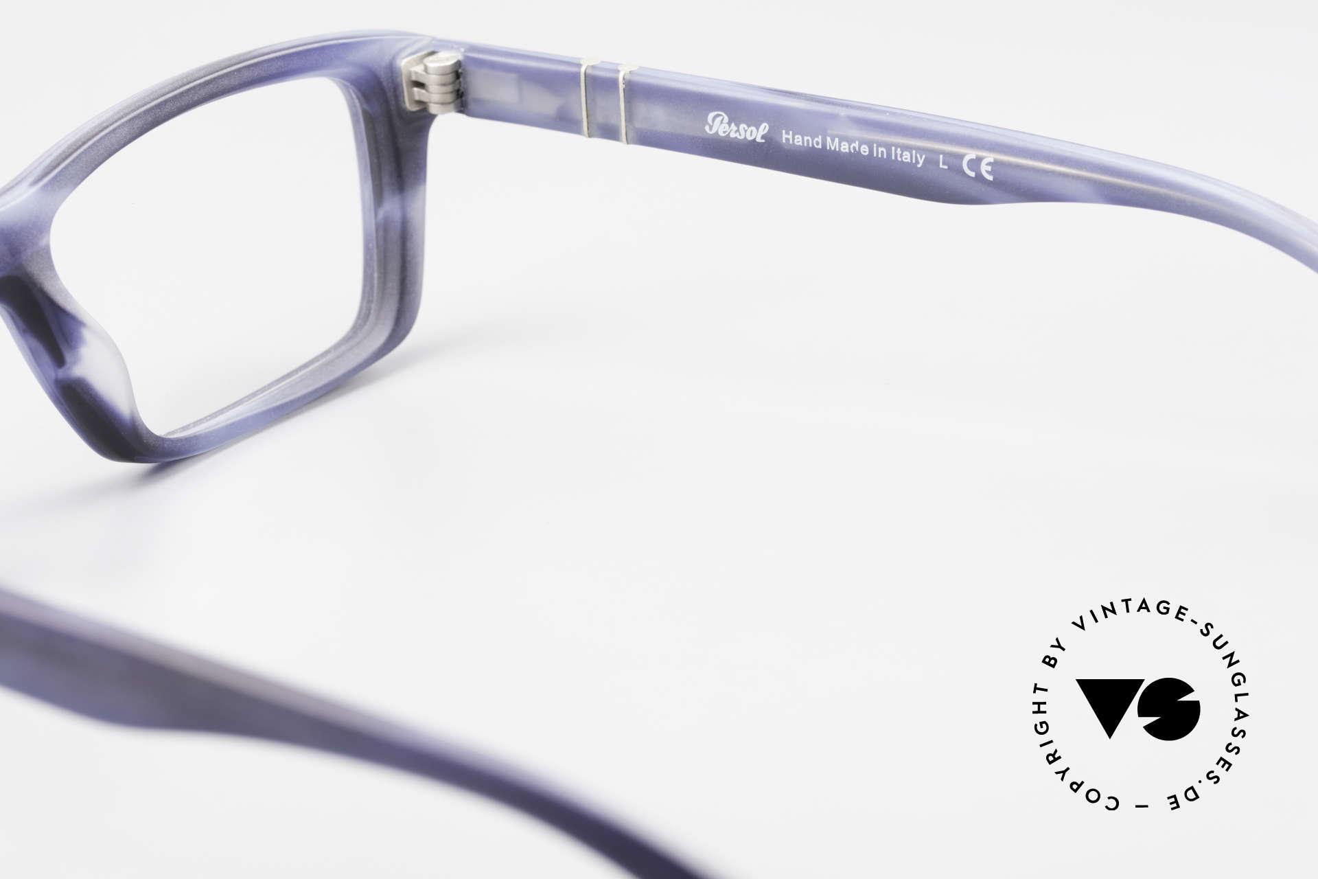 Persol 3060 Striking Eyeglasses For Men, orig. name: Persol 3060-V, 9012, size 54/17, 145, Made for Men