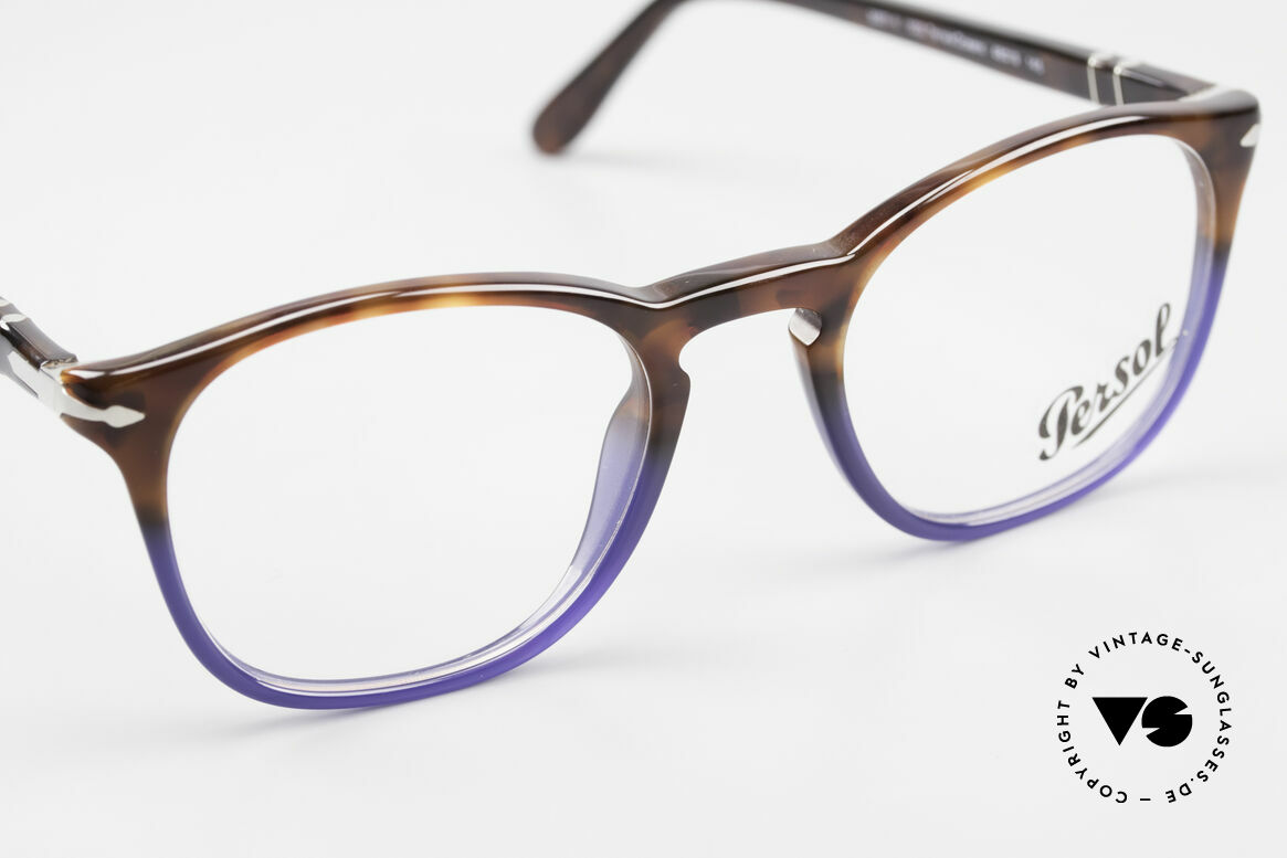 Persol 3007 Terrae Oceano Edition Small, DEMOS can be replaced with lenses of any kind, Made for Men and Women