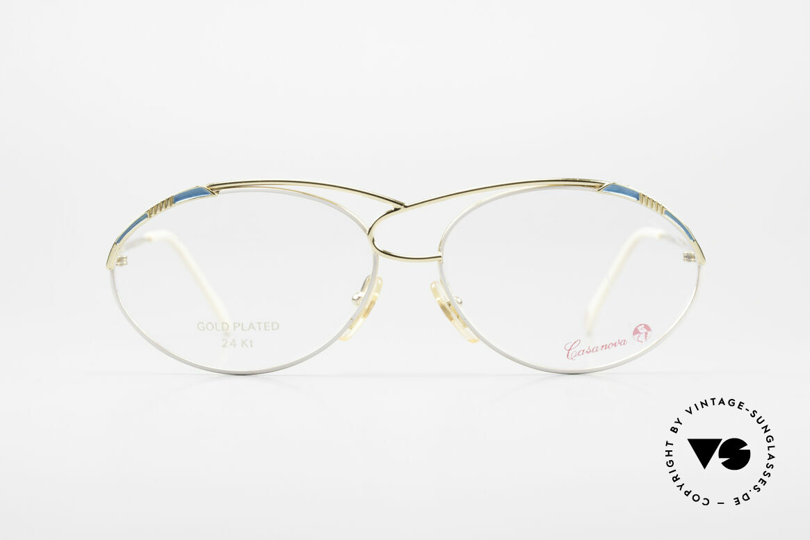 Casanova LC13 24kt Gold Plated Vintage Frame, fantastic combination of colors, shape & functionality, Made for Women