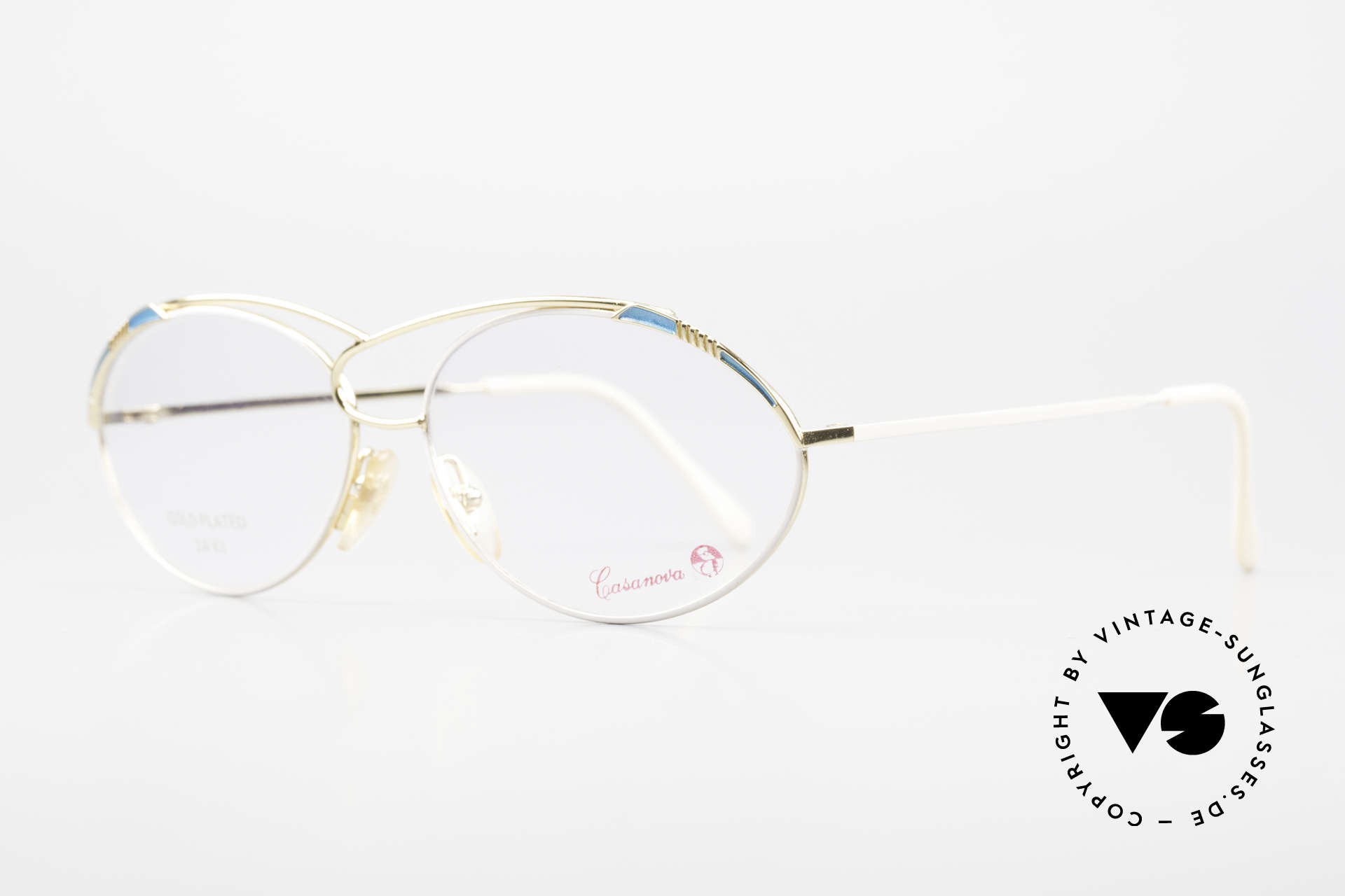 Casanova LC13 24kt Gold Plated Vintage Frame, 24KT gold-plated frame (absolutely top-notch quality), Made for Women