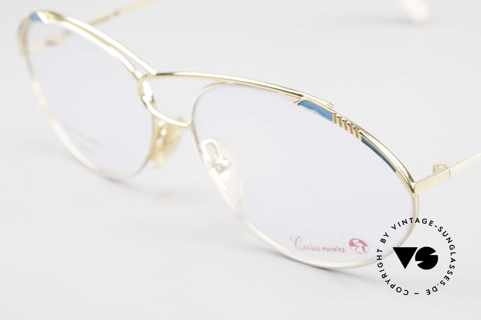 Casanova LC13 24kt Gold Plated Vintage Frame, a true rarity and collector's item (belongs in a museum), Made for Women
