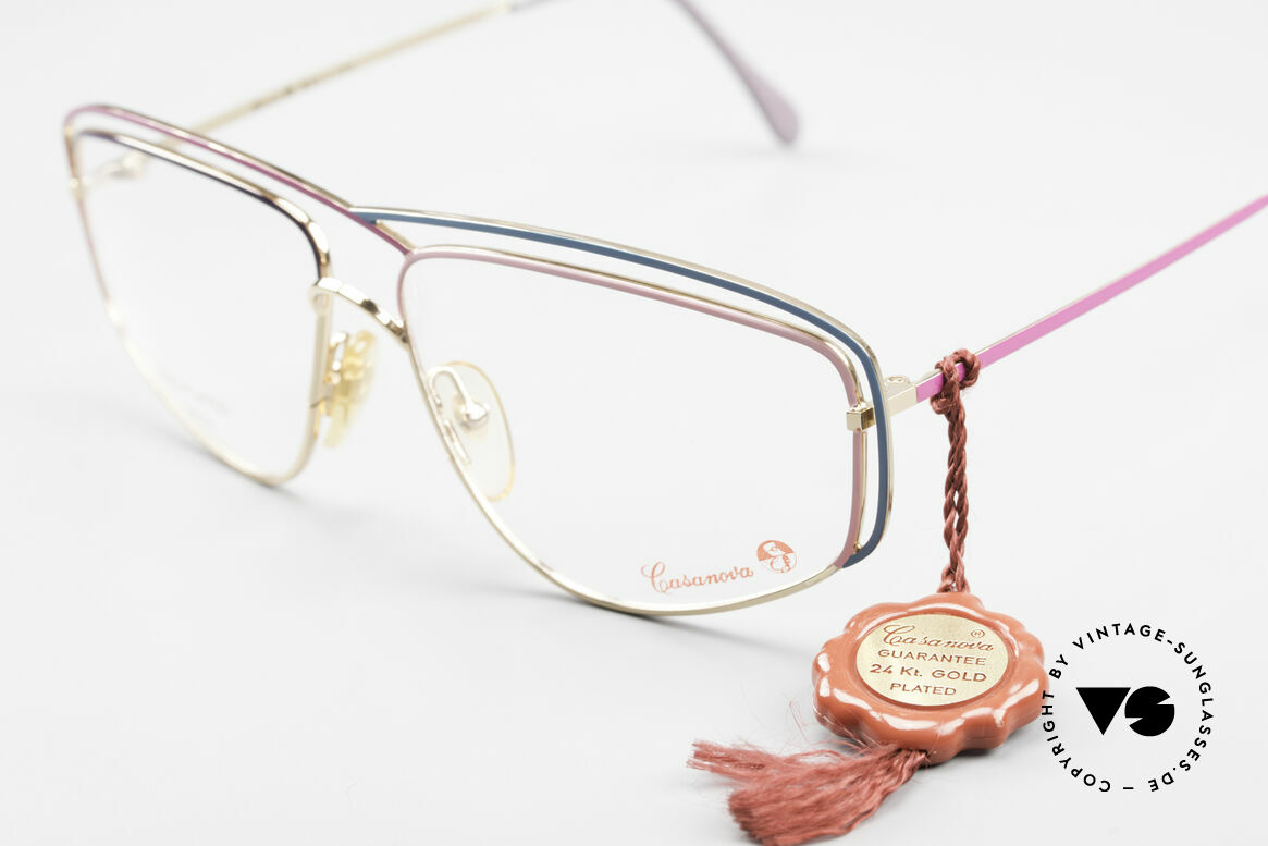 Casanova CN24 24kt Gold Plated Ladies Frame, a true rarity and collector's item (belongs in a museum), Made for Women