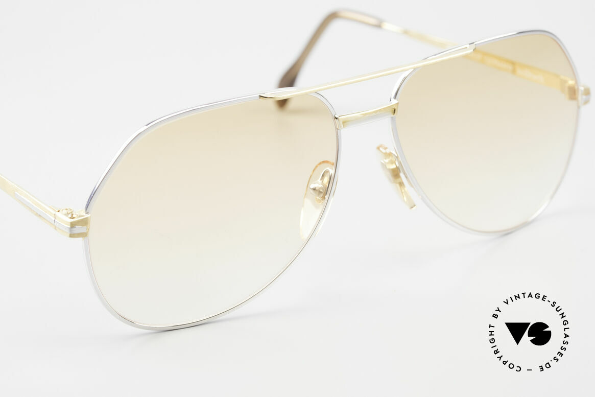 Zollitsch Cadre 1 West Germany Sunglasses 80's, unworn (like all our rare vintage Zollitsch sunglasses), Made for Men