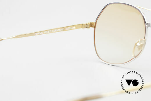 Zollitsch Cadre 1 West Germany Sunglasses 80's, NO RETRO fashion, but a rare 35 years old ORIGINAL, Made for Men