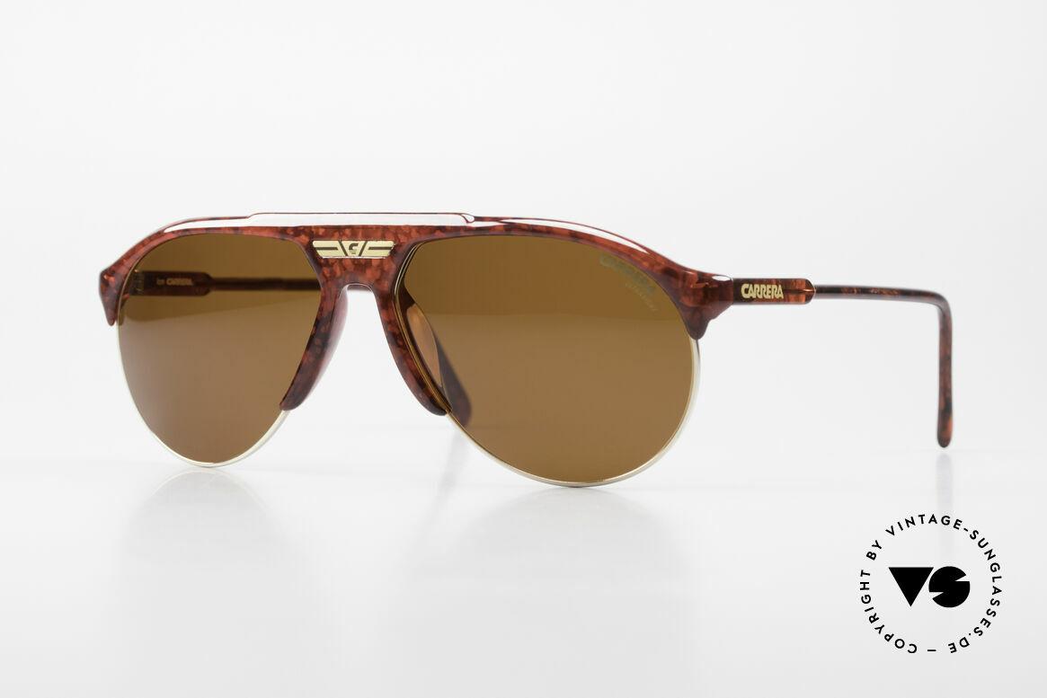 Carrera 5444 Wide Aviator Sunglasses 90's, vintage CARRERA designer sunglasses from the 90's, Made for Men