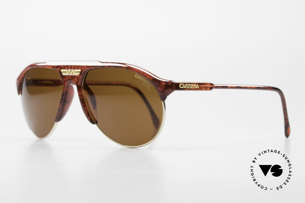 Carrera 5444 Wide Aviator Sunglasses 90's, with high-end Carrera ULTRASIGHT lenses; 100% UV, Made for Men