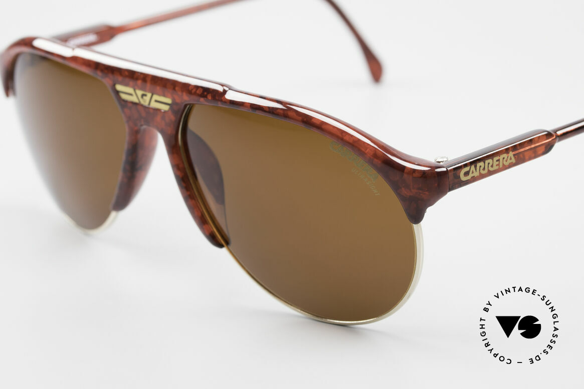 Carrera 5444 Wide Aviator Sunglasses 90's, unworn, new old stock (incl. soft case by CARRERA), Made for Men