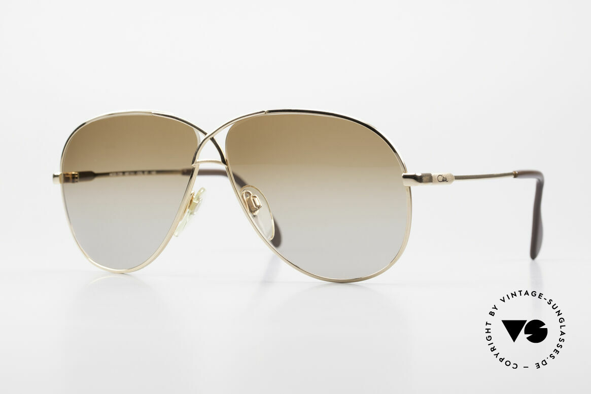 Cazal 728 Vintage Aviator Sunglasses, legendary aviator design from the 80's by Cazal, Made for Men