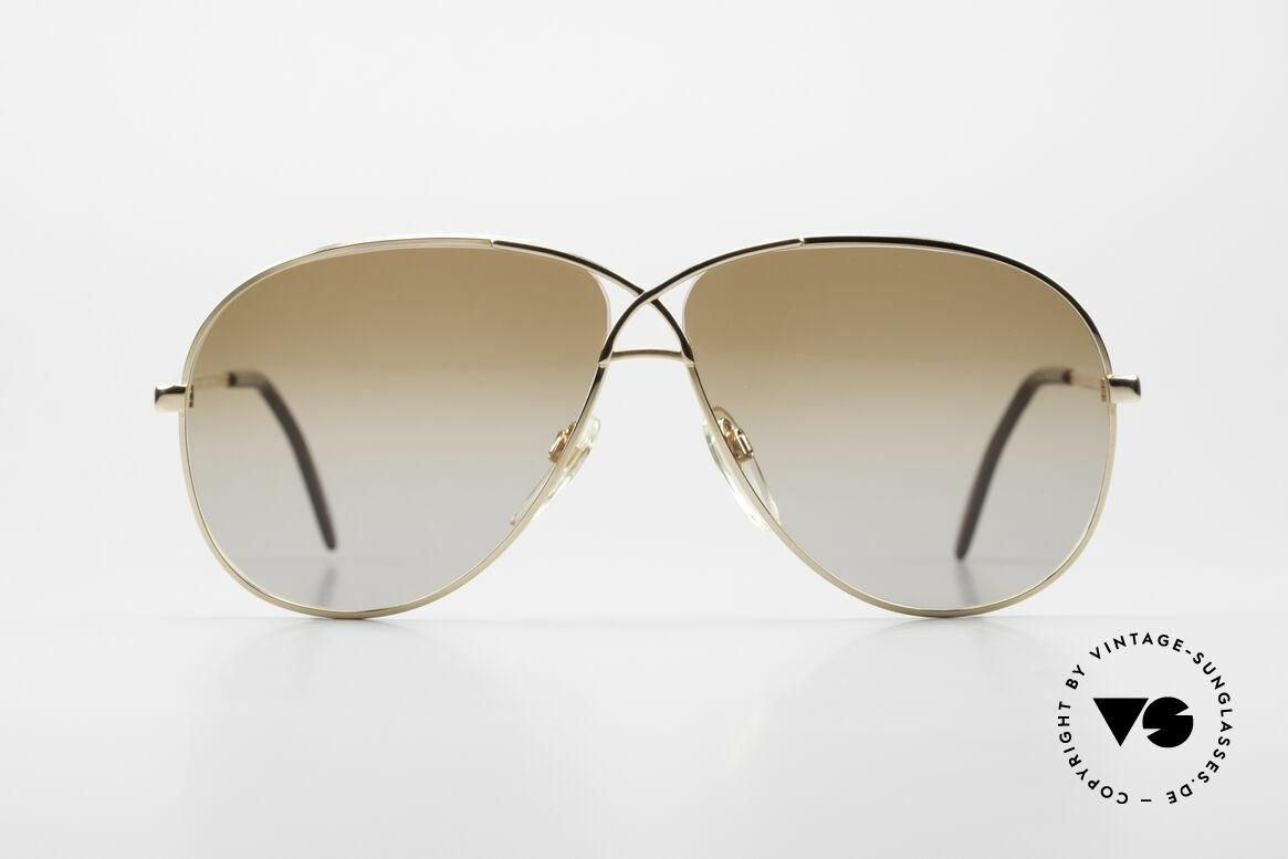 Cazal 728 Vintage Aviator Sunglasses, CAZAL's response to the Ray-Ban 'Large Metal', Made for Men