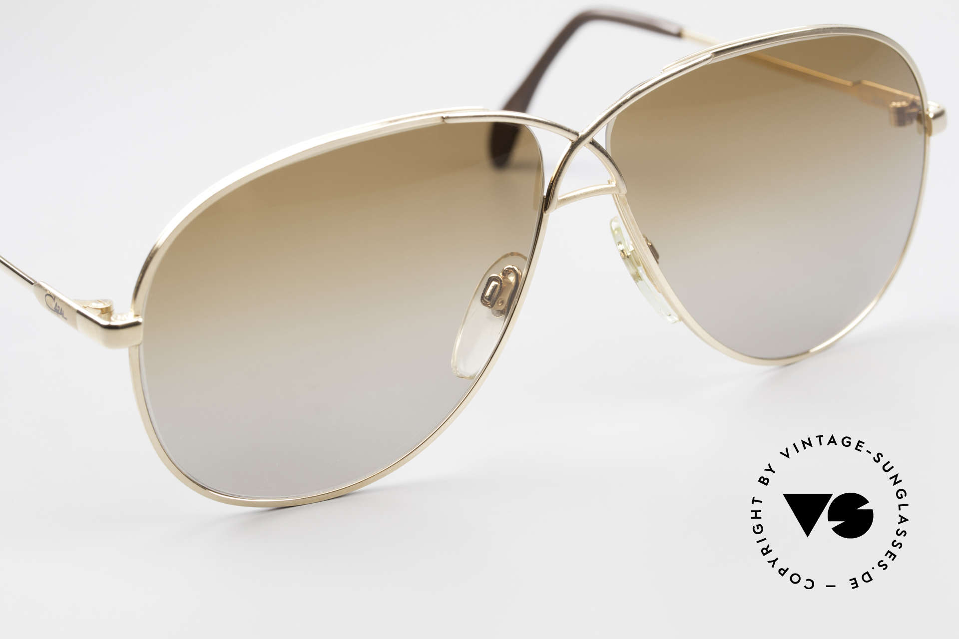 Cazal 728 Vintage Aviator Sunglasses, unworn condition 'NOS' - true vintage 80's rarity, Made for Men