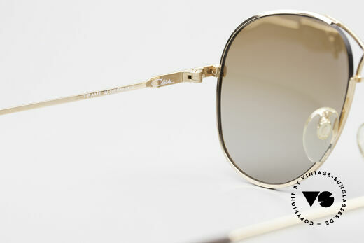 Cazal 728 Vintage Aviator Sunglasses, NO RETRO sunglasses, but a 30 years old original, Made for Men