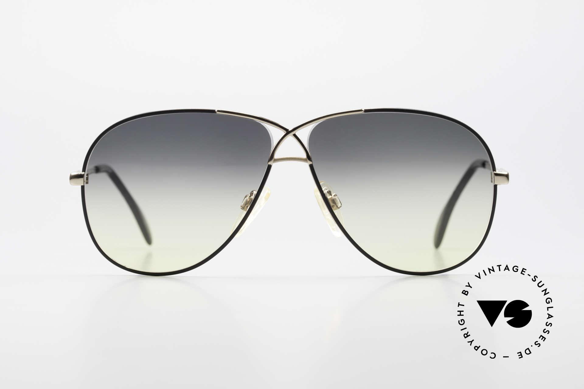 Cazal 728 Designer Aviator Sunglasses, CAZAL's response to the Ray-Ban 'Large Metal', Made for Men and Women