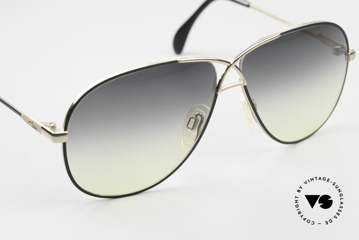 Cazal 728 Designer Aviator Sunglasses, unworn condition 'NOS' - true vintage 80's rarity, Made for Men and Women