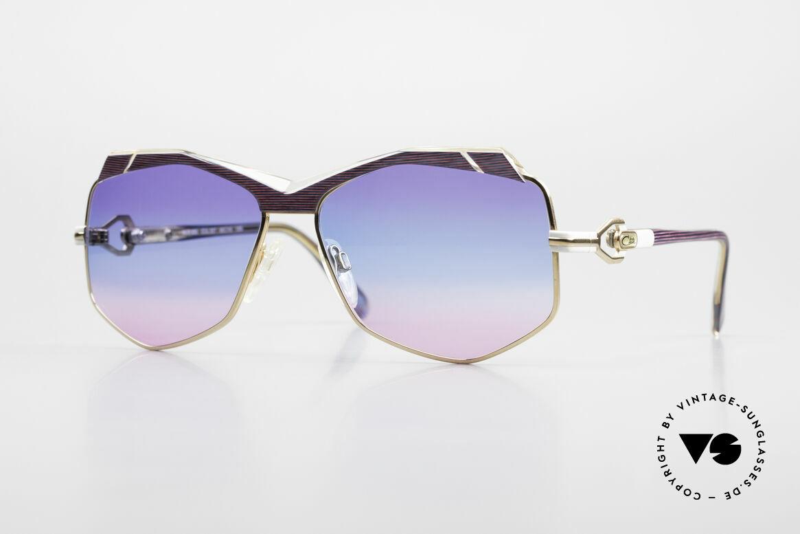 Cazal 230 Colorful Cazal Sunglasses 80's, crazy CAZAL designer sunglasses from 1986/87, Made for Women
