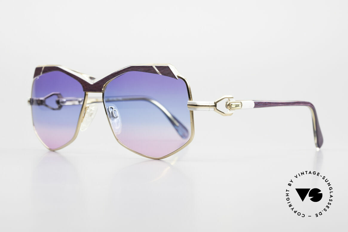 Cazal 230 Colorful Cazal Sunglasses 80's, accessory of the US HipHop scene in the 1980's, Made for Women