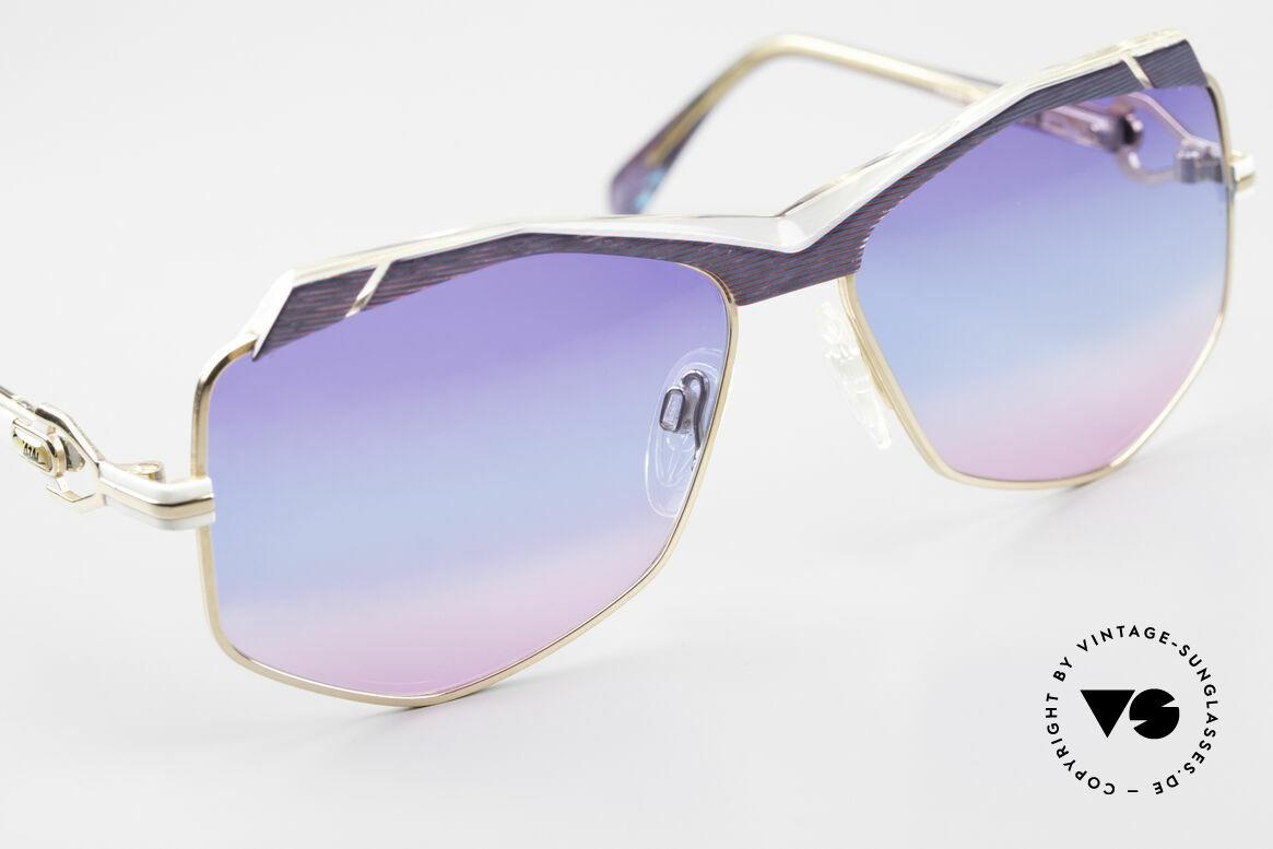 Cazal 230 Colorful Cazal Sunglasses 80's, NO RETRO shades, but a 'W.Germany' ORIGINAL, Made for Women