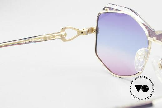 Cazal 230 Colorful Cazal Sunglasses 80's, with fancy triple-gradient sun lenses (100% UV), Made for Women