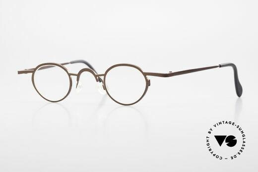 Theo Belgium Pat Avant-Garde Vintage Specs 90s Details