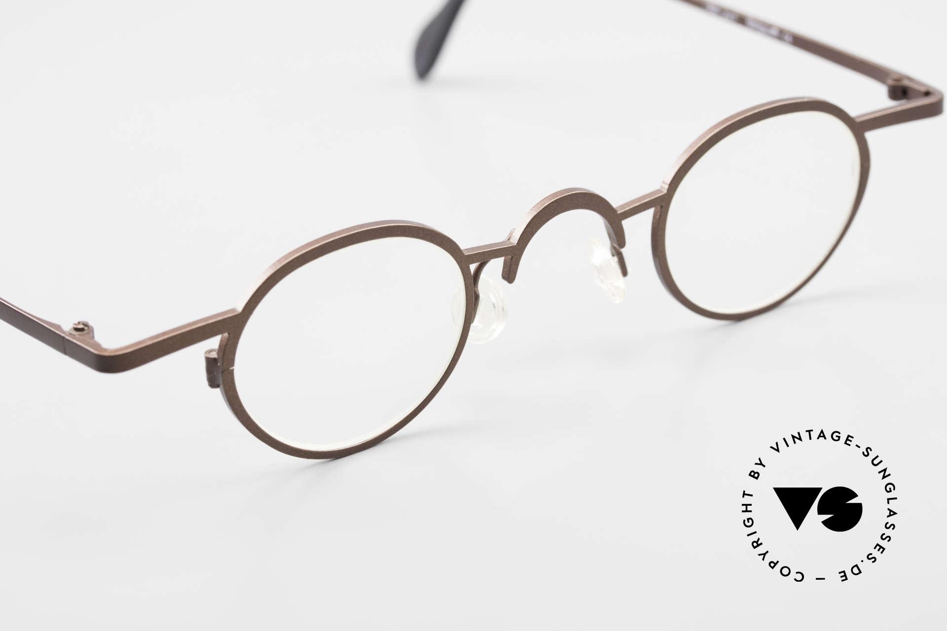 Theo Belgium Pat Avant-Garde Vintage Specs 90s, unworn vintage eyeglass-frame (with representativeness), Made for Men and Women