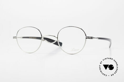 Lunor Swing A 32 Panto Swing Bridge Glasses Platinum Details