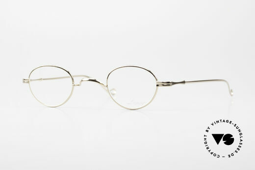 Lunor II 03 XS Unisex Frame Gold Plated Details