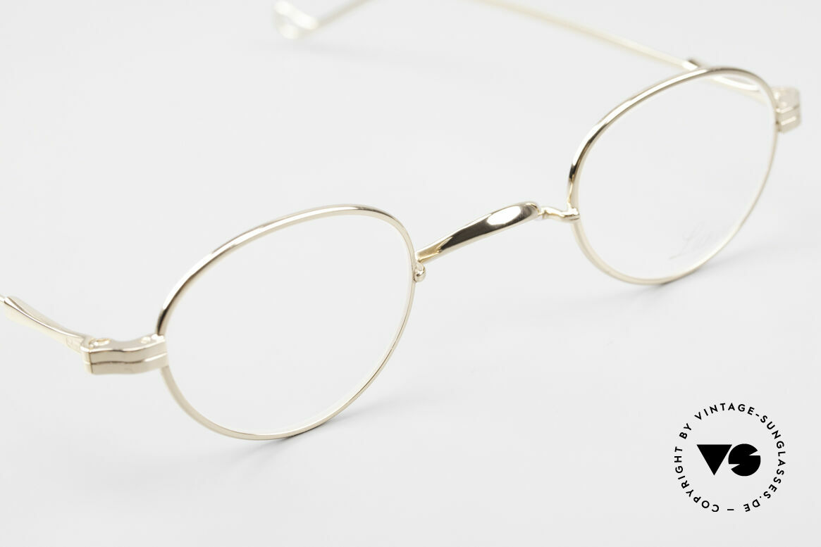 Lunor II 03 XS Unisex Frame Gold Plated, unworn single item (for all lovers of quality), true rarity, Made for Men and Women