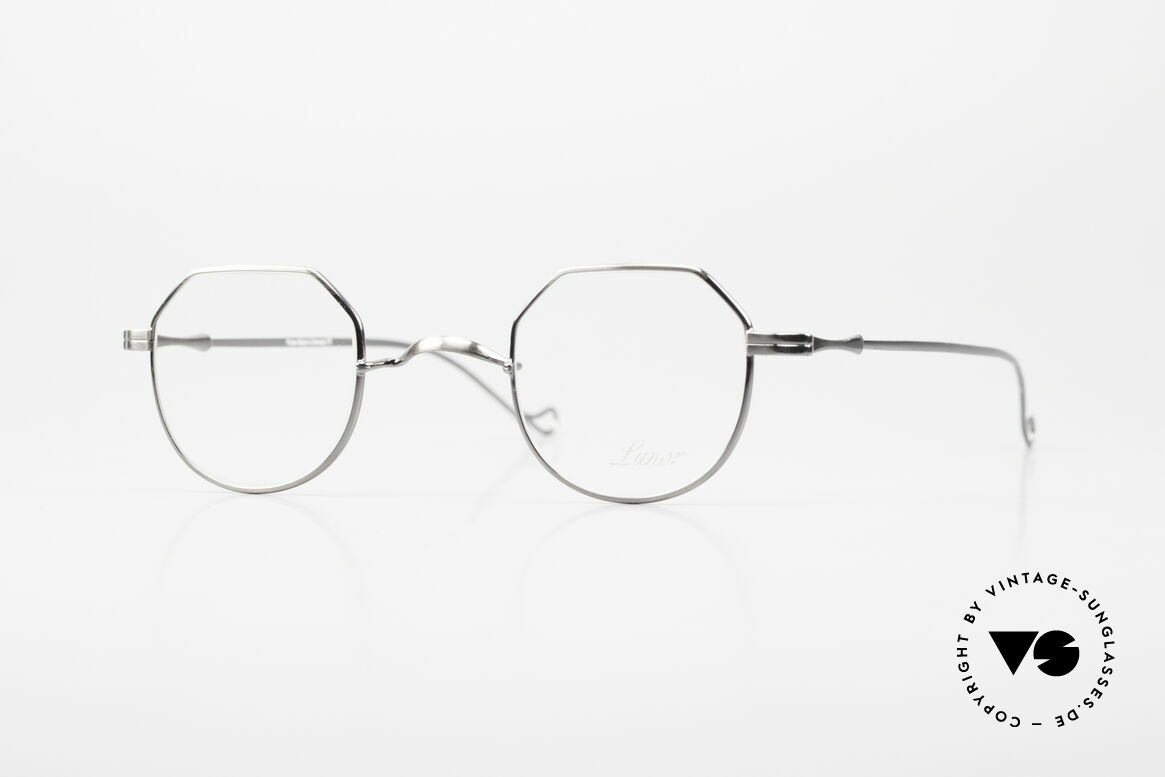 "Lunor II 18 Square Panto Eyeglasses Metal, vintage Lunor eyeglasses of the old ""LUNOR II"" series, Made for Men and Women"