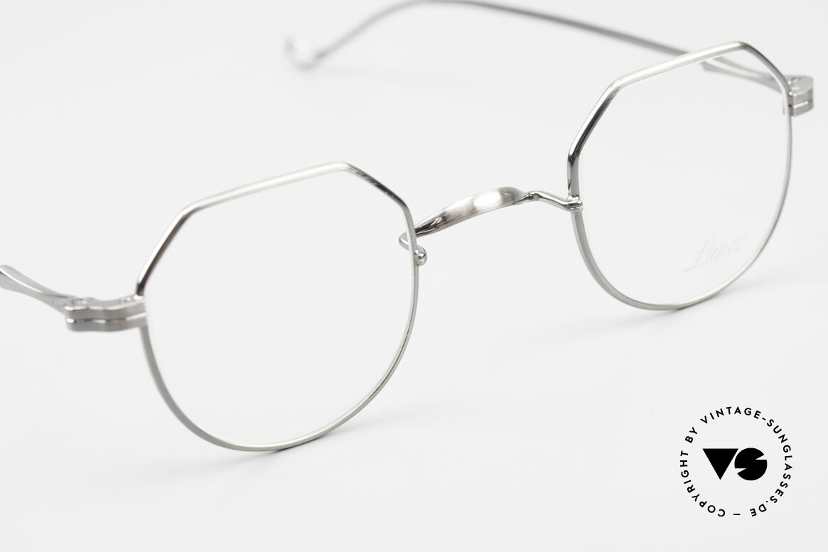 Lunor II 18 Square Panto Eyeglasses Metal, unworn rarity for all lovers of quality from the late 90s, Made for Men and Women