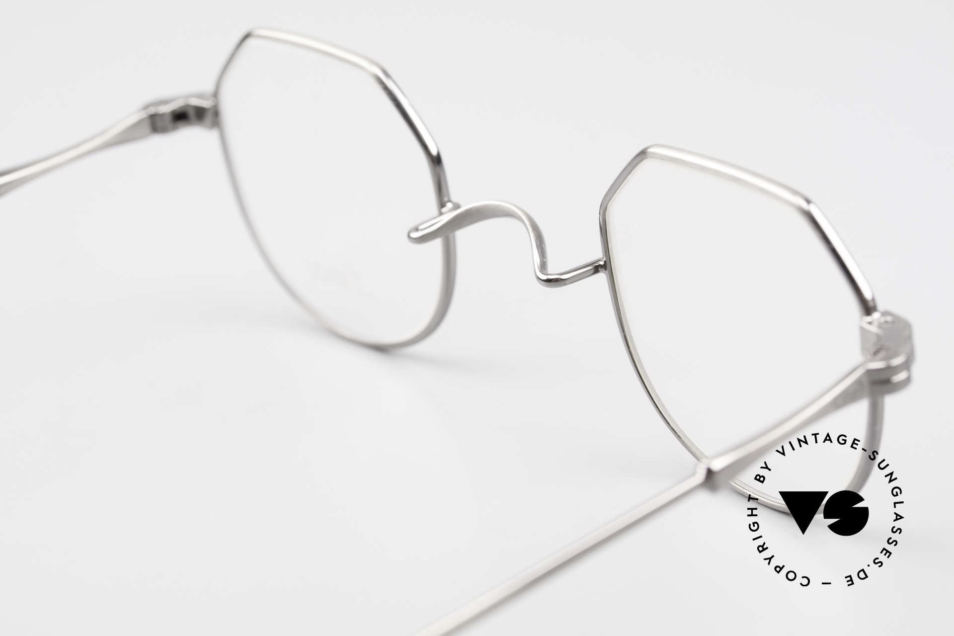 Lunor II 18 Square Panto Eyeglasses Metal, Size: extra small, Made for Men and Women