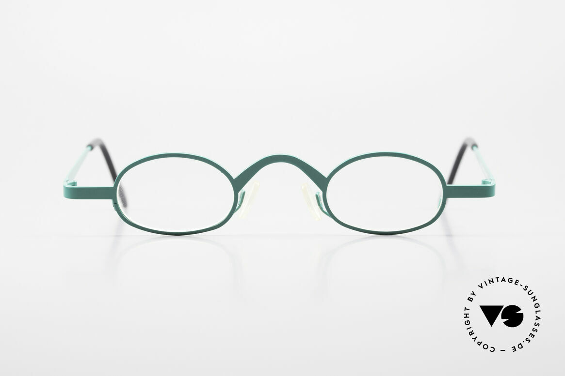 Theo Belgium Brave Oval Vintage Eyeglasses 90's, Theo Belgium = the most self-willed brand in the world, Made for Men and Women