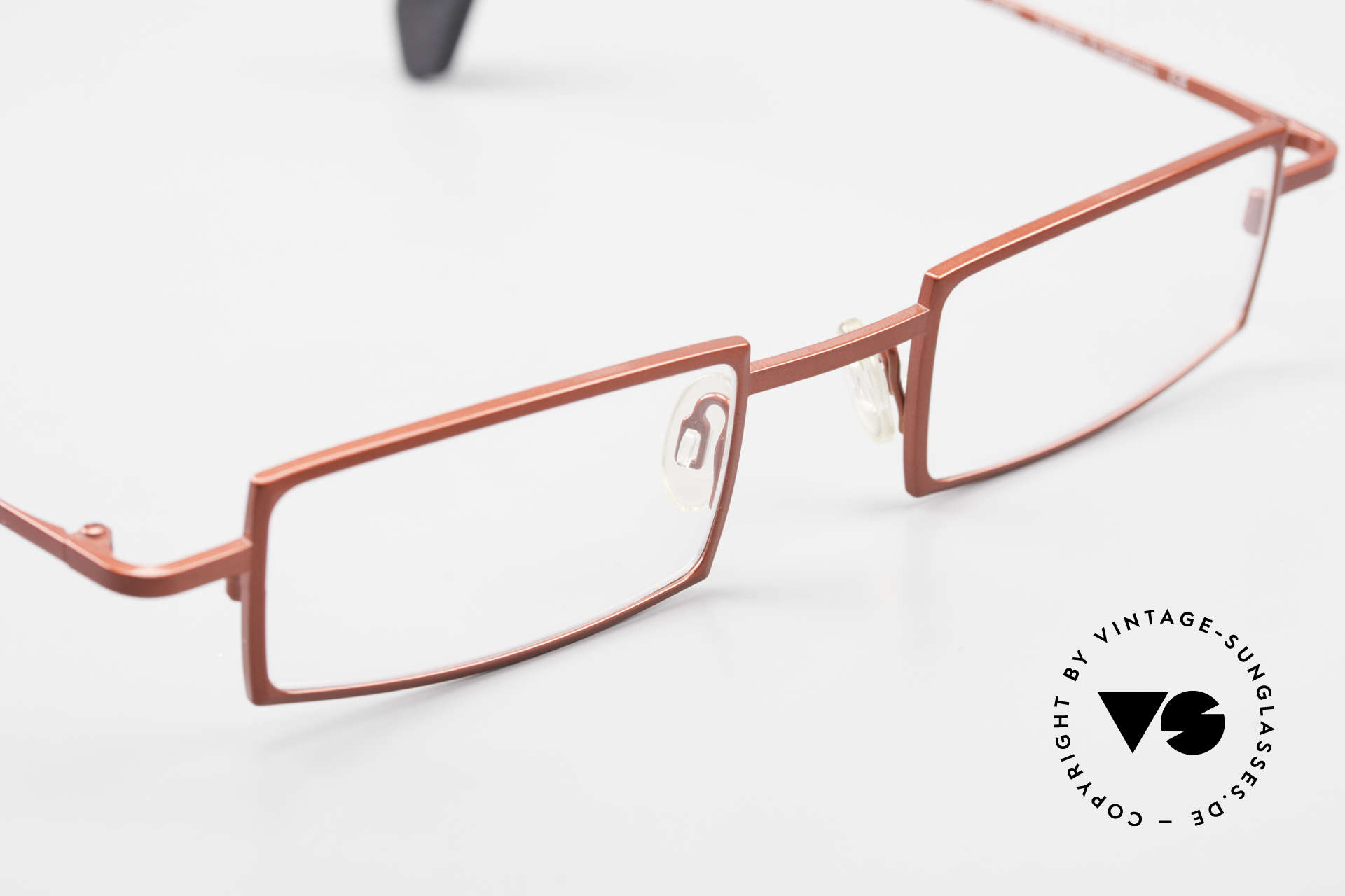 Theo Belgium Largest Square Striking Metal Glasses, the DEMO lenses should be replaced with prescriptions, Made for Women