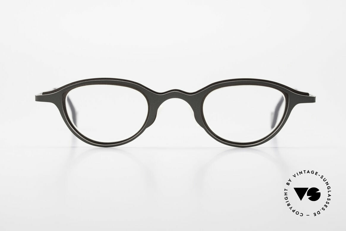 Theo Belgium Uno Enchanting Ladies Eyeglasses, made for the avant-garde, individualists, trend-setters, Made for Women