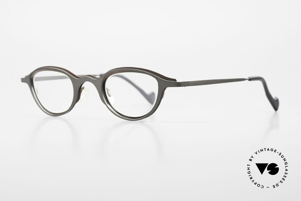 Theo Belgium Uno Enchanting Ladies Eyeglasses, glamorous feminine sunglasses; simply fancy and chic, Made for Women