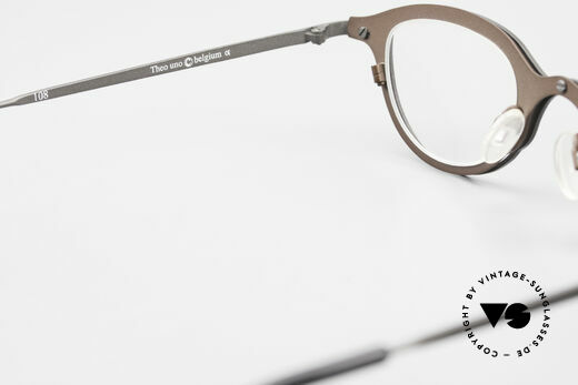 Theo Belgium Uno Enchanting Ladies Eyeglasses, so to speak: vintage eyeglasses with representativeness, Made for Women