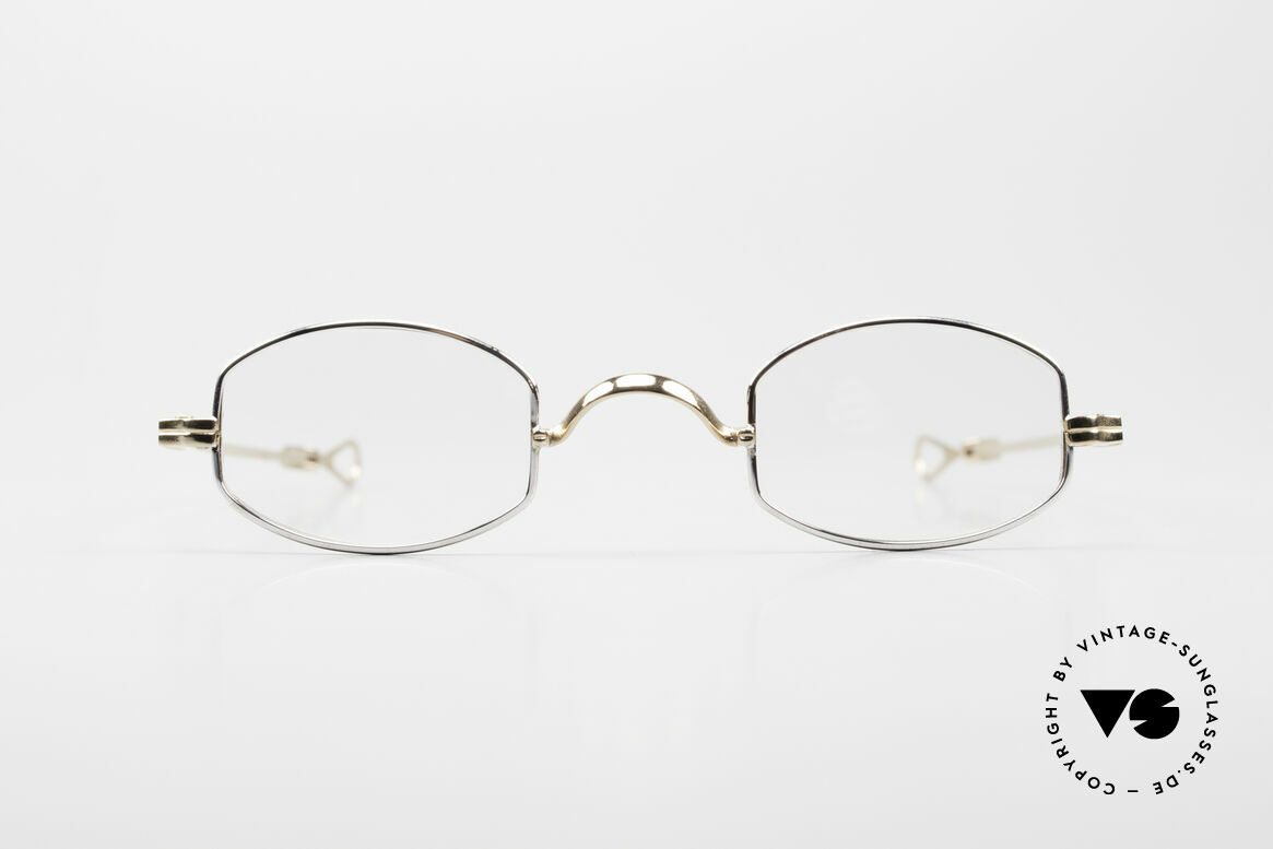 Lunor I 02 Telescopic Telescopic Sliding Temples, Lunor: timeless classics, BC: GOLD & Platinum PLATED, Made for Men and Women