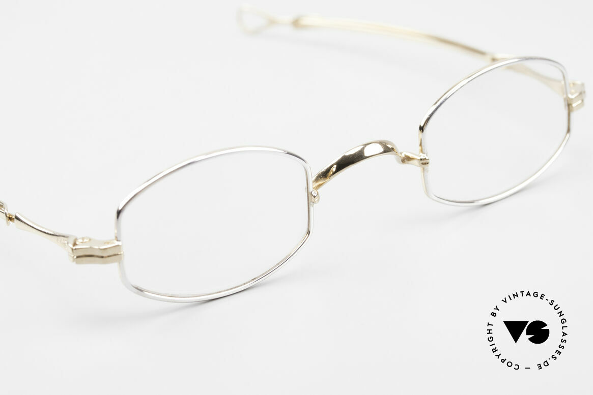 Lunor I 02 Telescopic Telescopic Sliding Temples, this rarity can be glazed with prescription lenses, of course, Made for Men and Women