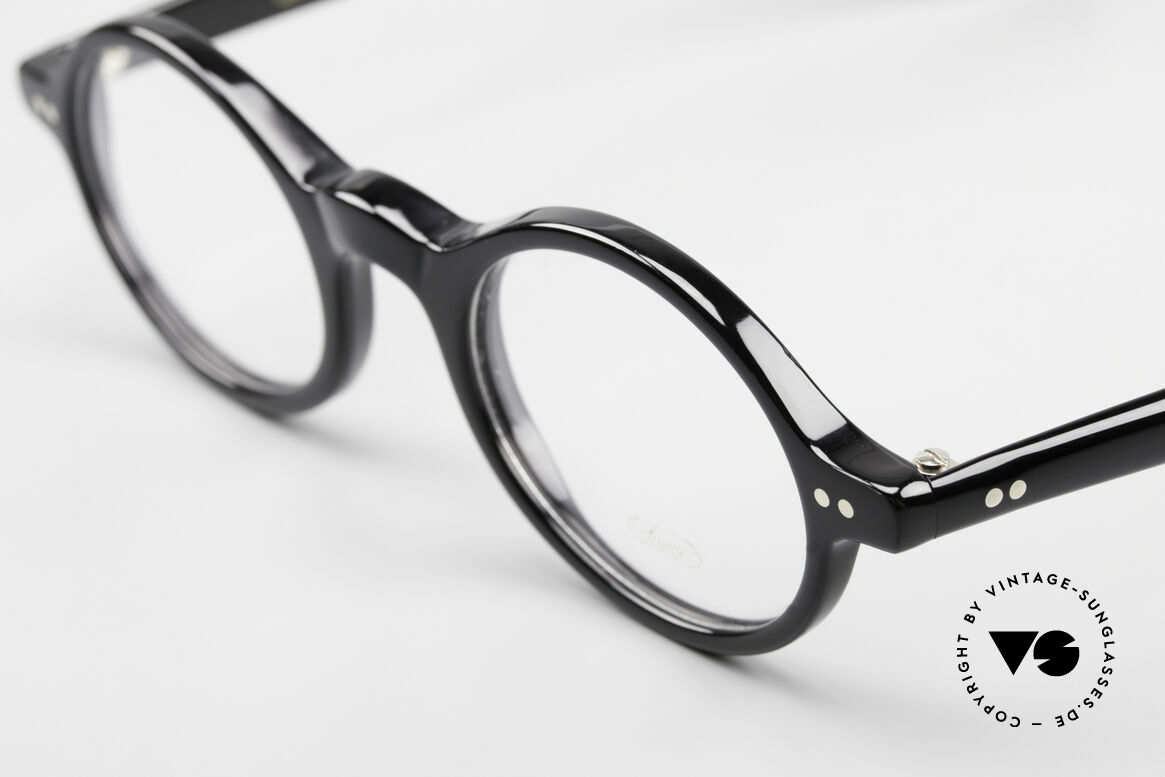 Lunor A52 Oval Eyeglasses Black Acetate, 100% made in Germany, hand-polished, a true CLASSIC, Made for Men and Women
