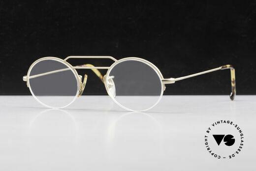 W Proksch's M5/13 90's Semi Rimless Dulled Gold Details
