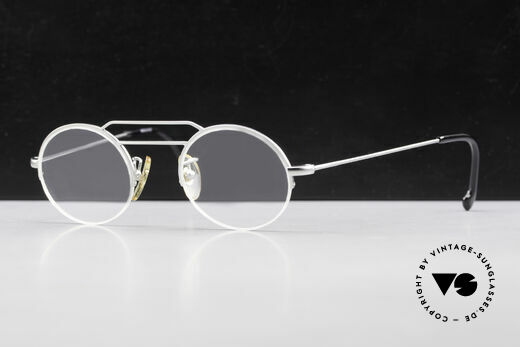 W Proksch's M5/8 90s Semi Rimless Dulled Silver Details