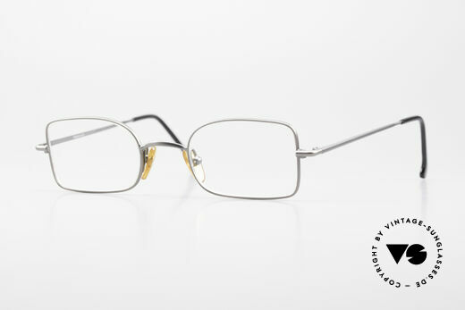 W Proksch's M19/11 1990's Avantgarde Eyeglasses Details