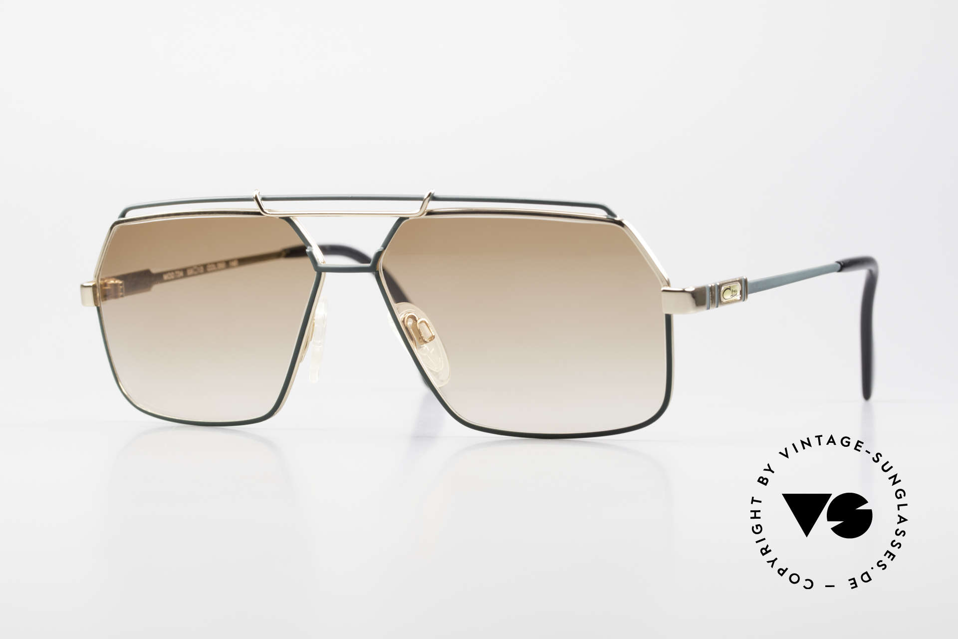 Cazal 734 1980's West Germany Shades, classic Cazal sunglasses for men from 1987/1988, Made for Men