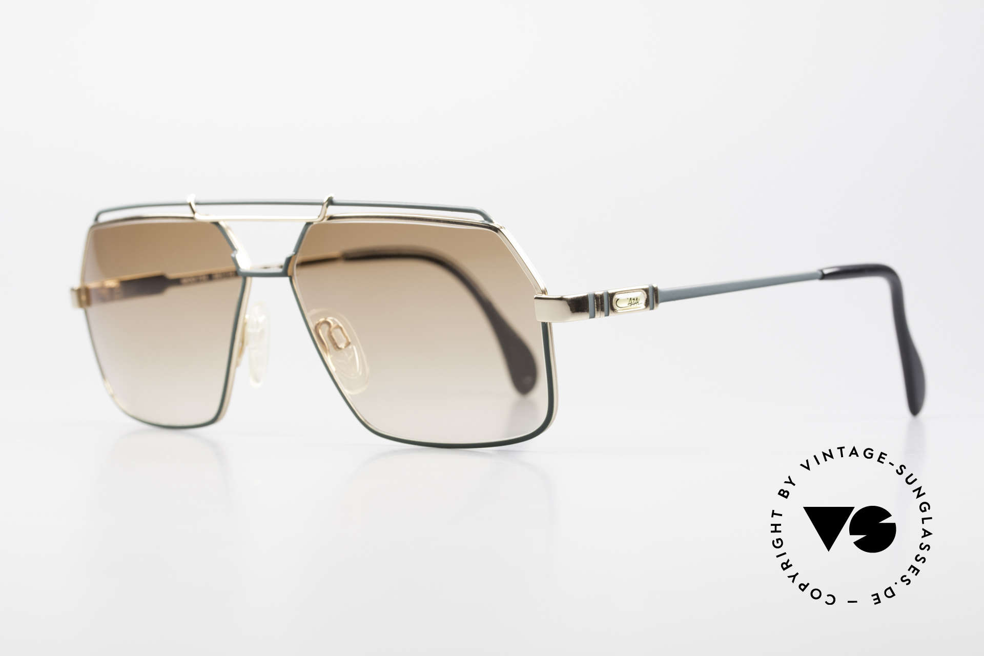 Cazal 734 1980's West Germany Shades, delicate double bridge - suits the real gentleman, Made for Men