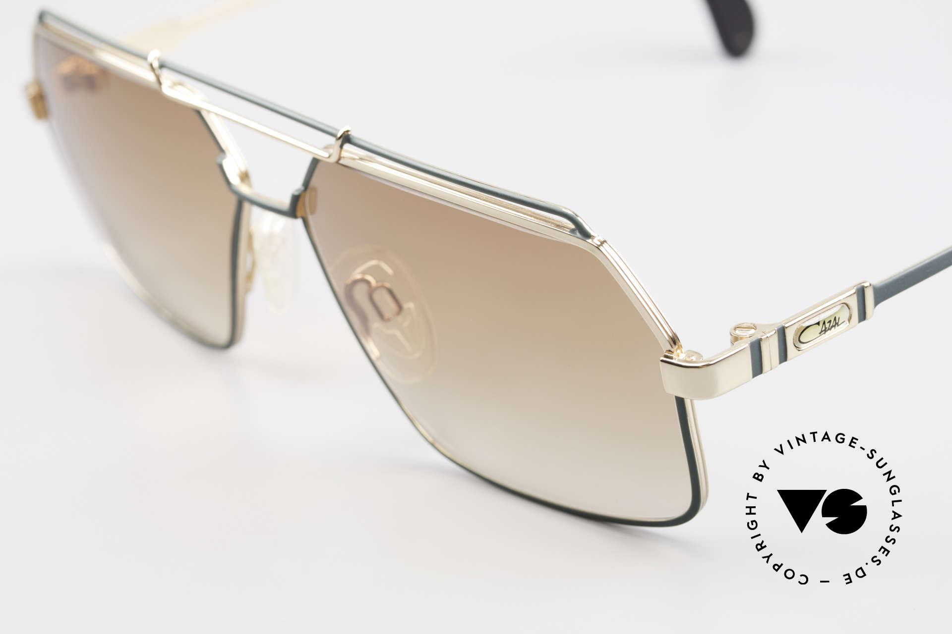 Cazal 734 1980's West Germany Shades, new old stock (like all our vintage Cazal eyewear), Made for Men