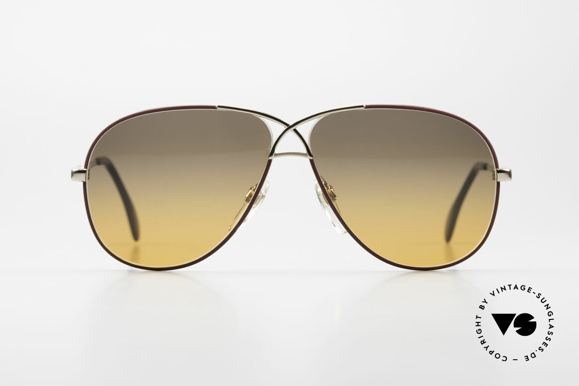 Cazal 728 80's Designer Aviator Shades, CAZAL's response to the Ray-Ban 'Large Metal', Made for Men and Women