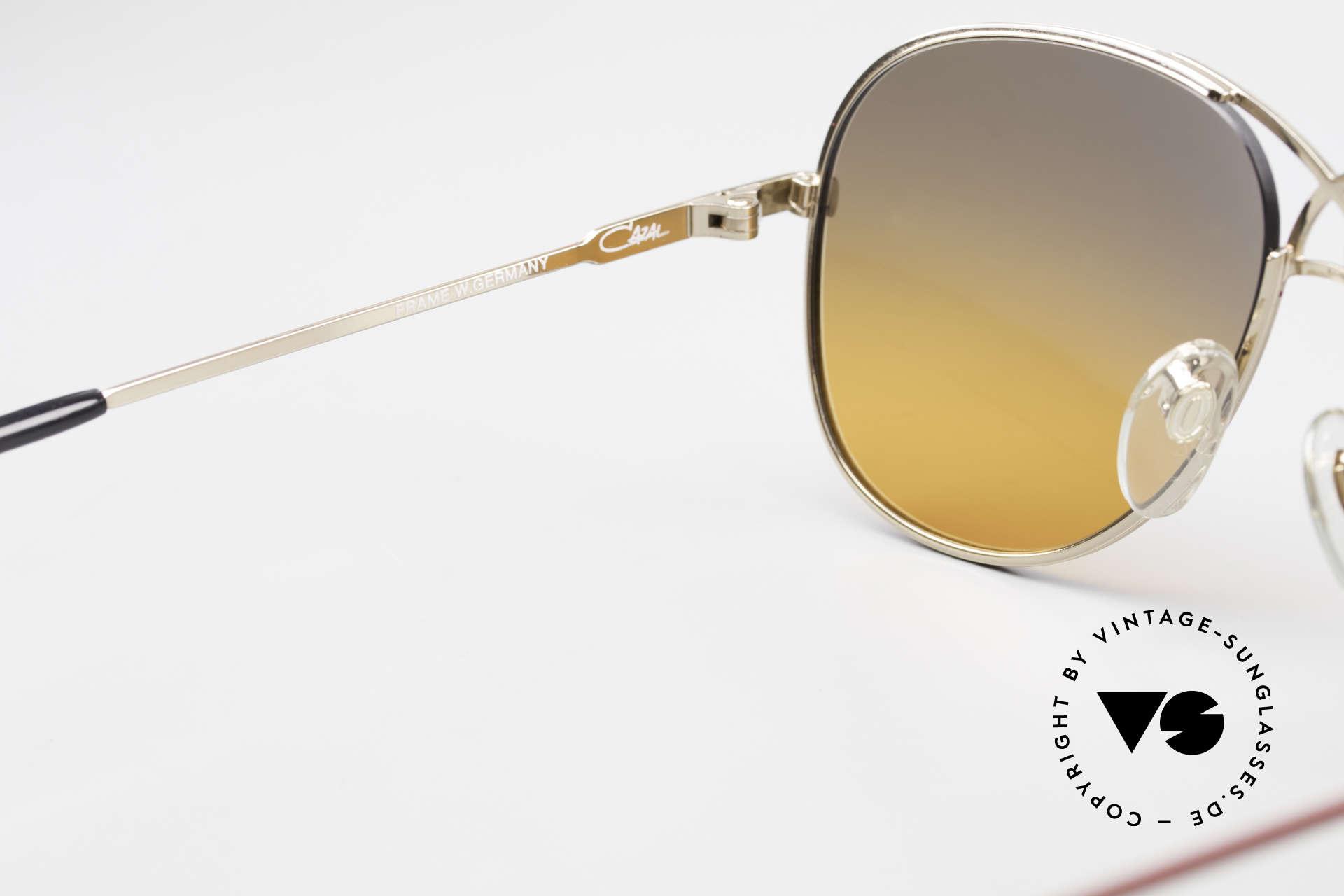 Cazal 728 80's Designer Aviator Shades, NO RETRO sunglasses, but a 30 years old original, Made for Men and Women