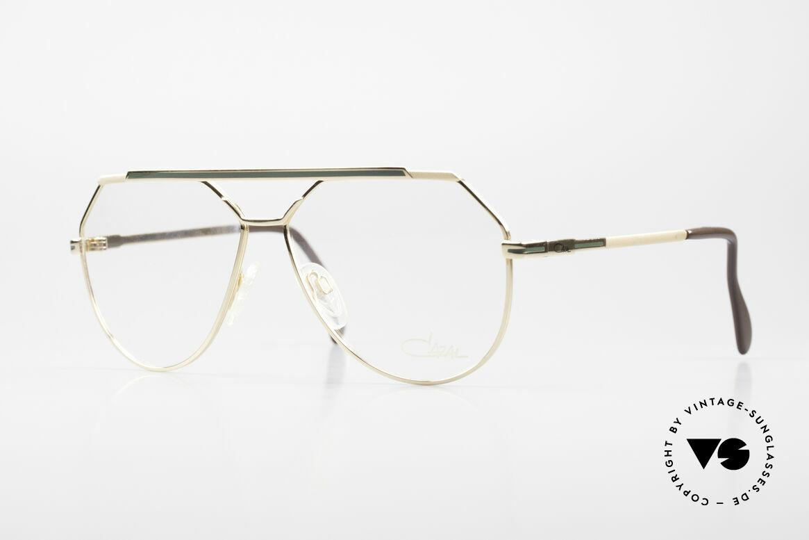 Cazal 733 Old Cazal Aviator Eyeglasses, striking CAZAL eyeglasses for men from 1986/87/88, Made for Men