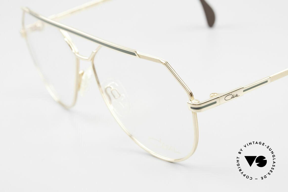 Cazal 733 Old Cazal Aviator Eyeglasses, new old stock (like all our vintage CAZAL eyewear), Made for Men