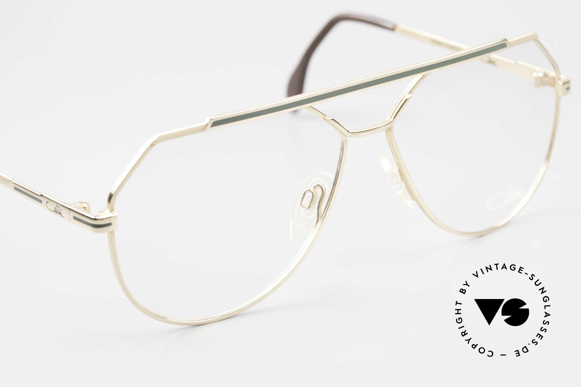 Cazal 733 Old Cazal Aviator Eyeglasses, NO RETRO eyewear, but an old 'W.Germany' original, Made for Men